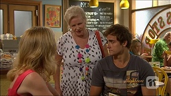 Sharon Canning, Sheila Canning, Kyle Canning in Neighbours Episode 7087