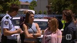 Mark Brennan, Paige Novak, Terese Willis, Brad Willis in Neighbours Episode 7088