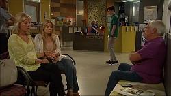 Lauren Turner, Amber Turner, Bailey Turner, Lou Carpenter in Neighbours Episode 7088