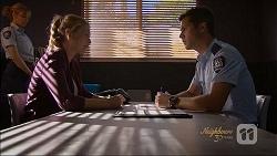Danni Ferguson, Mark Brennan in Neighbours Episode 7088