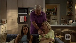 Paige Novak, Lou Carpenter, Lauren Turner in Neighbours Episode 7089