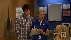 Chris Pappas, Georgia Brooks, Lucy Robinson in Neighbours Episode 7089