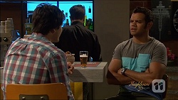 Chris Pappas, Nate Kinski in Neighbours Episode 7089