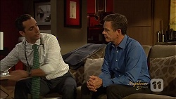 Nick Petrides, Paul Robinson in Neighbours Episode 7090