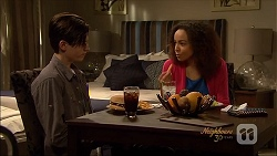 Bailey Turner, Alice Azikiwe in Neighbours Episode 7090