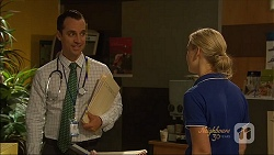 Nick Petrides, Georgia Brooks in Neighbours Episode 7090