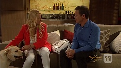 Bouncer II, Lucy Robinson, Paul Robinson in Neighbours Episode 7090