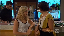 Georgia Brooks, Naomi Canning in Neighbours Episode 7090