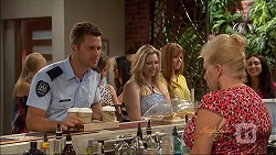 Mark Brennan, Sheila Canning in Neighbours Episode 7091