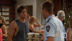Tyler Brennan, Mark Brennan in Neighbours Episode 7091