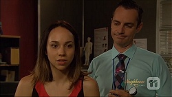 Imogen Willis, Nick Petrides in Neighbours Episode 7091