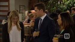 Amber Turner, Daniel Robinson, Josh Willis, Imogen Willis in Neighbours Episode 7092