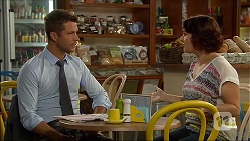 Mark Brennan, Naomi Canning in Neighbours Episode 7093