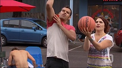 Tyler Brennan, Nate Kinski, Naomi Canning in Neighbours Episode 7093