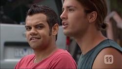 Nate Kinski, Tyler Brennan in Neighbours Episode 7093