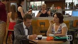 Paul Robinson, Sheila Canning, Naomi Canning in Neighbours Episode 7094