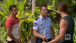 Nate Kinski, Mark Brennan, Tyler Brennan in Neighbours Episode 7094