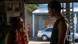 Michelle Kim, Tyler Brennan in Neighbours Episode 7094