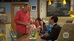 Karl Kennedy, Nick Petrides in Neighbours Episode 7095
