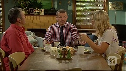 Karl Kennedy, Toadie Rebecchi, Georgia Brooks in Neighbours Episode 7095