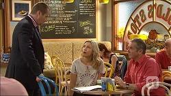 Toadie Rebecchi, Georgia Brooks, Karl Kennedy in Neighbours Episode 7095