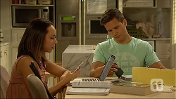 Imogen Willis, Josh Willis in Neighbours Episode 7096