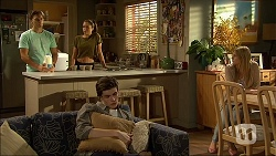 Josh Willis, Paige Smith, Bailey Turner, Amber Turner in Neighbours Episode 7096