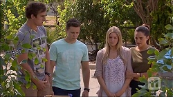 Kyle Canning, Josh Willis, Amber Turner, Paige Novak in Neighbours Episode 7096