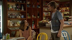 Imogen Willis, Daniel Robinson in Neighbours Episode 7096