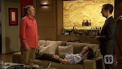 Karl Kennedy, Paul Robinson, Nick Petrides in Neighbours Episode 7096