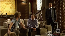 Daniel Robinson, Paul Robinson, Nick Petrides in Neighbours Episode 7096