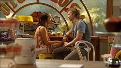 Imogen Willis, Daniel Robinson in Neighbours Episode 7097