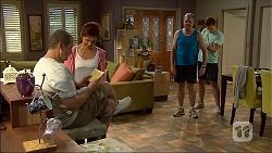 Toadie Rebecchi, Susan Kennedy, Karl Kennedy, Josh Willis in Neighbours Episode 7097
