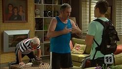 Lou Carpenter, Karl Kennedy, Josh Willis in Neighbours Episode 7097