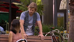 Paige Novak, Daniel Robinson in Neighbours Episode 7097