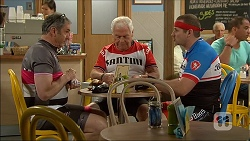 Karl Kennedy, Lou Carpenter, Toadie Rebecchi in Neighbours Episode 7097