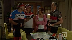 Toadie Rebecchi, Lou Carpenter, Susan Kennedy, Karl Kennedy in Neighbours Episode 7097