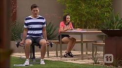 Josh Willis, Imogen Willis in Neighbours Episode 7098