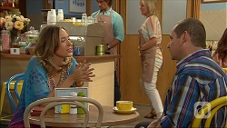 Sonya Mitchell, Brad Willis, Lauren Turner, Toadie Rebecchi in Neighbours Episode 7098