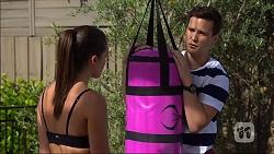 Paige Novak, Josh Willis in Neighbours Episode 7098