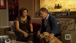 Naomi Canning, Paul Robinson, Bouncer II in Neighbours Episode 7098