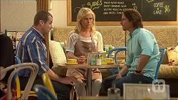 Toadie Rebecchi, Lauren Turner, Brad Willis in Neighbours Episode 7099