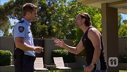 Mark Brennan, Brad Willis in Neighbours Episode 7099