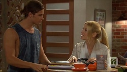 Tyler Brennan, Danni Ferguson in Neighbours Episode 7099
