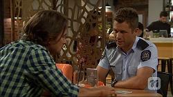 Brad Willis, Mark Brennan in Neighbours Episode 7099