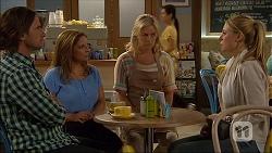 Brad Willis, Terese Willis, Lauren Turner, Danni Ferguson in Neighbours Episode 7099