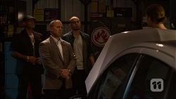 Dennis Dimato, Tyler Brennan in Neighbours Episode 7099