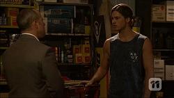 Dennis Dimato, Tyler Brennan in Neighbours Episode 7100