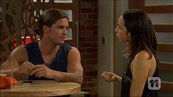 Tyler Brennan, Imogen Willis in Neighbours Episode 7100