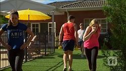 Paige Smith, Josh Willis, Daniel Robinson, Amber Turner in Neighbours Episode 7100